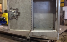 Stainless Steel Sampling Cabinet